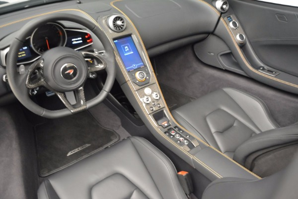 Used 2013 McLaren 12C Spider for sale Sold at Bugatti of Greenwich in Greenwich CT 06830 24