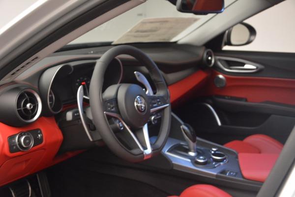 New 2017 Alfa Romeo Giulia Ti Q4 for sale Sold at Bugatti of Greenwich in Greenwich CT 06830 15