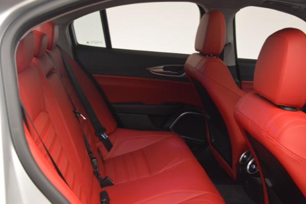 New 2017 Alfa Romeo Giulia Ti Q4 for sale Sold at Bugatti of Greenwich in Greenwich CT 06830 21