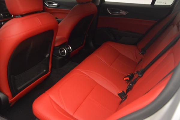 New 2017 Alfa Romeo Giulia Q4 for sale Sold at Bugatti of Greenwich in Greenwich CT 06830 16
