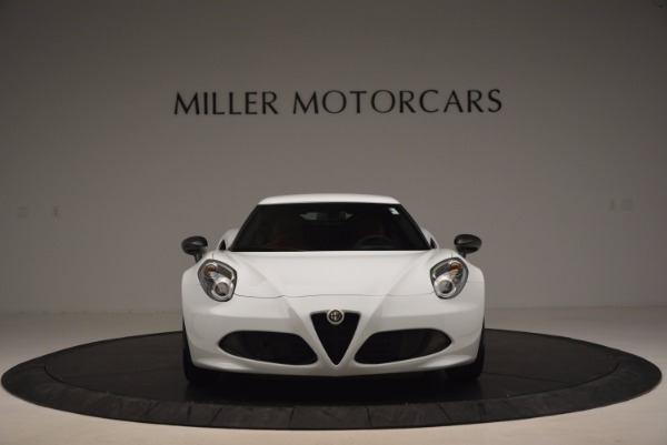 New 2016 Alfa Romeo 4C Coupe for sale Sold at Bugatti of Greenwich in Greenwich CT 06830 12