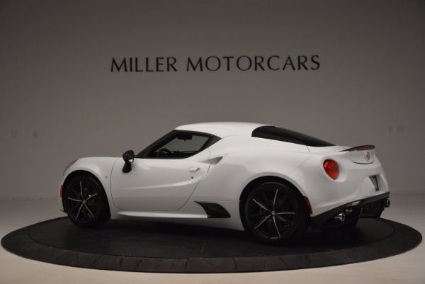 New 2016 Alfa Romeo 4C Coupe for sale Sold at Bugatti of Greenwich in Greenwich CT 06830 4