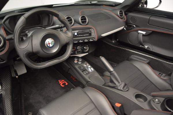 New 2016 Alfa Romeo 4C Spider for sale Sold at Bugatti of Greenwich in Greenwich CT 06830 25