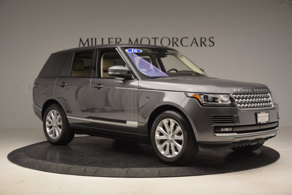 Used 2016 Land Rover Range Rover HSE TD6 for sale Sold at Bugatti of Greenwich in Greenwich CT 06830 10