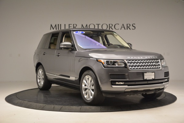 Used 2016 Land Rover Range Rover HSE TD6 for sale Sold at Bugatti of Greenwich in Greenwich CT 06830 11