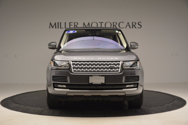Used 2016 Land Rover Range Rover HSE TD6 for sale Sold at Bugatti of Greenwich in Greenwich CT 06830 12