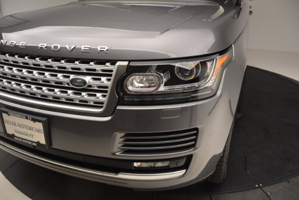 Used 2016 Land Rover Range Rover HSE TD6 for sale Sold at Bugatti of Greenwich in Greenwich CT 06830 14