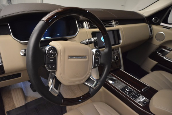 Used 2016 Land Rover Range Rover HSE TD6 for sale Sold at Bugatti of Greenwich in Greenwich CT 06830 19