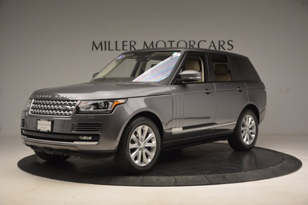 Used 2016 Land Rover Range Rover HSE TD6 for sale Sold at Bugatti of Greenwich in Greenwich CT 06830 2