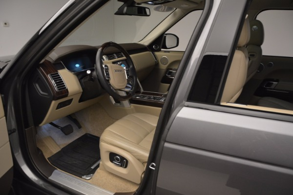 Used 2016 Land Rover Range Rover HSE TD6 for sale Sold at Bugatti of Greenwich in Greenwich CT 06830 21