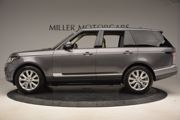 Used 2016 Land Rover Range Rover HSE TD6 for sale Sold at Bugatti of Greenwich in Greenwich CT 06830 3