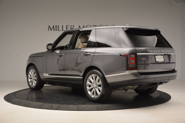 Used 2016 Land Rover Range Rover HSE TD6 for sale Sold at Bugatti of Greenwich in Greenwich CT 06830 4