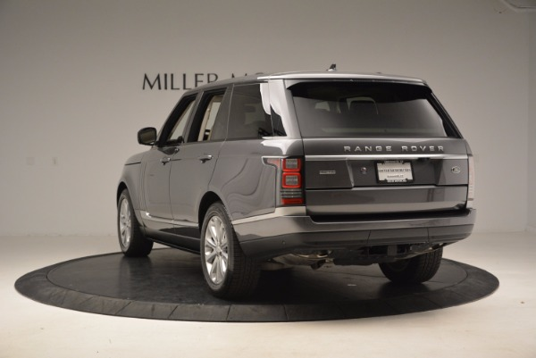 Used 2016 Land Rover Range Rover HSE TD6 for sale Sold at Bugatti of Greenwich in Greenwich CT 06830 5