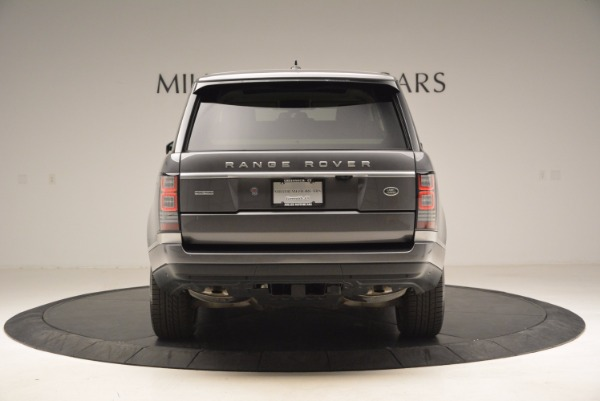 Used 2016 Land Rover Range Rover HSE TD6 for sale Sold at Bugatti of Greenwich in Greenwich CT 06830 6