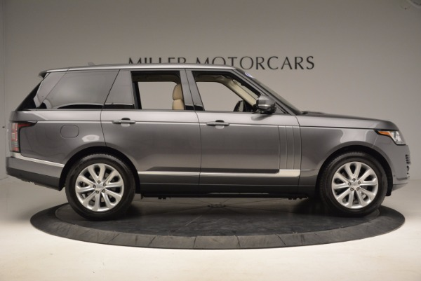Used 2016 Land Rover Range Rover HSE TD6 for sale Sold at Bugatti of Greenwich in Greenwich CT 06830 9