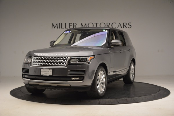 Used 2016 Land Rover Range Rover HSE TD6 for sale Sold at Bugatti of Greenwich in Greenwich CT 06830 1